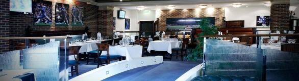 Tea Bar Chelsea fodboldbilletter med mad og restaurant besøg inden fodboldkampen på Stamford Bridge