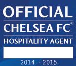 Official billet logo. vi er officiel billetagent hos Chelsea fc og sælger lovlige fodboldbilletter