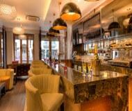 Maida Vale hotel - en god bar at nyde Chelsea fodbolturen i. Her er et god udvalg af drinks øl og mad.