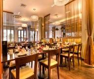 Maida Vale hotel - en god morgendbuffet til at starte fodboldrejsen med, er godt
