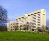 Holiday Inn Heathrow hotel set udefra. Udenfor centrum og ikke et hotel der bruges meget på vores fodboldrejser til Arsenal