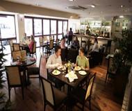Royal National restaurant er et godt sted at spise sin morgenmad på fodboldturen