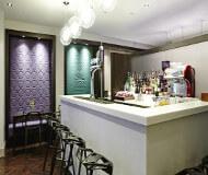 Ibis styles hotel liverpool - hotelbaren og lounge er god at få en drink i efter man har brugt sine fodboldbilletter til liverpool