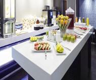 Morgenmad på ibis styles hotel ved liverpool fodboldrejser. God morgenmad er vigtig på fodboldturen til liverpool