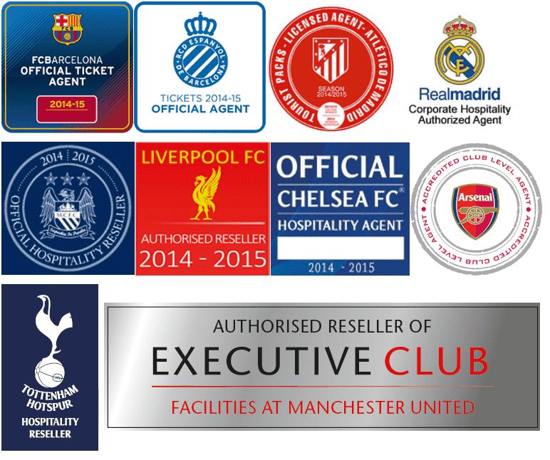 Billetagent logoer - officielle fodboldbilletter