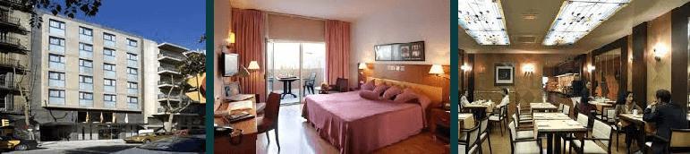 Hotel Evenia Rocafort er et godt hotel i barcelona og tilbyder nogle fine værelse på fodboldrejse til barcelona