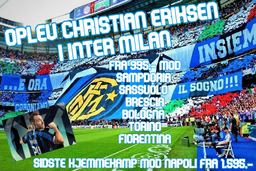 Inter milan fodboldrejser - billede