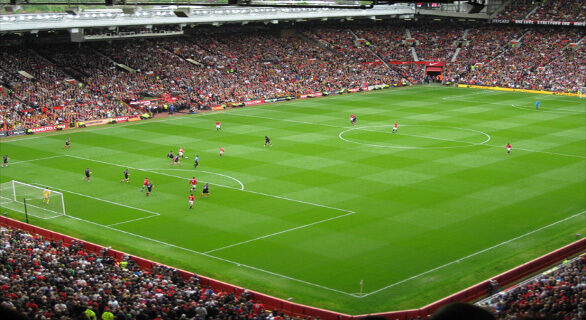 club 100 manchester united fodboldbilletter udsyn. Fodboldrejser til manchester united billet placering