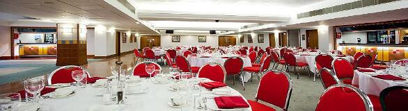 Salford suite dining. spis en god middag i longe på manchester united fodboldrejsen
