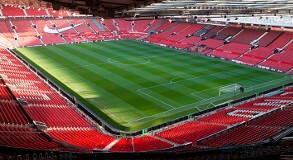 Quadrant lounge overblik til banen fra Old Trafford club 100 lounge. Gode fodboldbilletter til manchester united