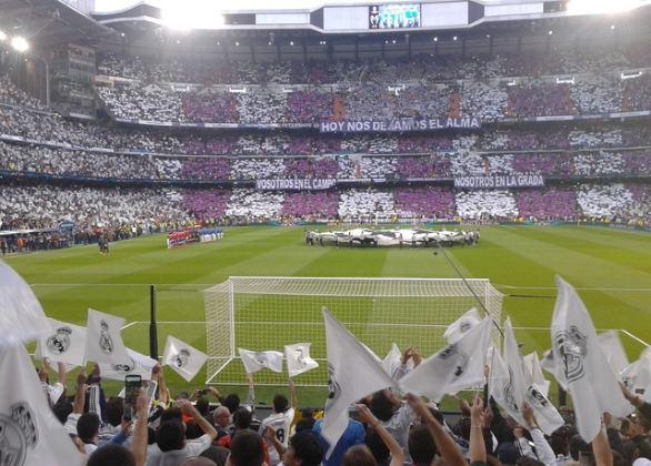 Rejser og Fodboldbilletter til Real Madrid. Kortside 1 ring