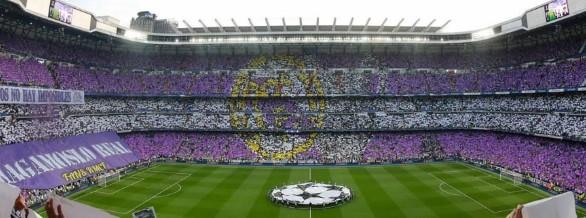fodboldbilletter Real madrid langside 2. ring mellem målfelterne