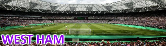 west ham banner - fodboldbilletter og fodboldrejser til london klubben på london stadium